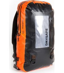 mochila notebook 20 l waterproof impermeable - naranajo - drysafe