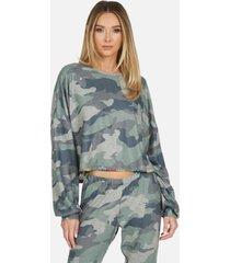 fairfax le army camo pullover - army camo l