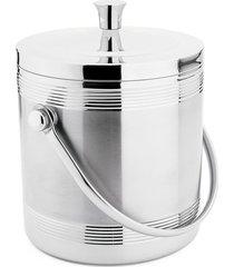 balde para gelo 1,4 litros com pegador hauskraft prata