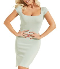 guess charlotte bodycon sweater dress