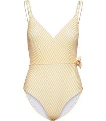 panos emporio sunbeam arezzo swimsuit baddräkt badkläder gul panos emporio