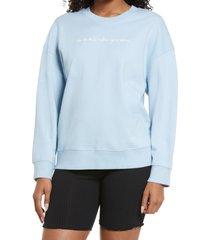women's bp. pullover sweatshirt, size x-large - blue