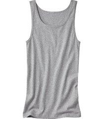 dubbelpak t-shirt zonder mouwen, grijs-gemêleerd 4