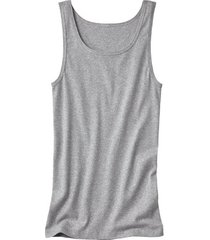 dubbelpak t-shirt zonder mouwen, grijs gemêleerd 7