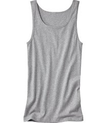 dubbelpak t-shirt zonder mouwen, grijs-gemêleerd 7