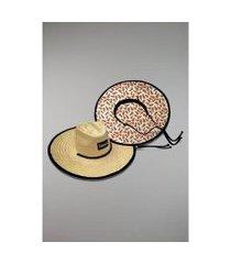 chapéu kouk authentic de palha abacaxi