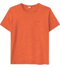 camiseta tradicional malha fio a fio wee! laranja - p
