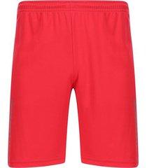 pantaloneta unicolor color rojo, talla xs