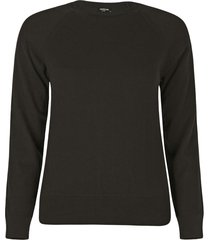 blusa anselmi decote redondo preto