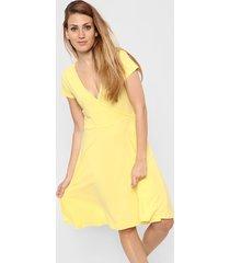 vestido amarillo skanda alma