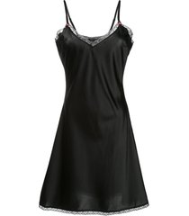 morgan lane vestido sienna - preto