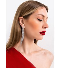 akira as long as you love me rhinestone dangle earring