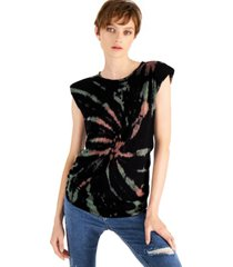 and now this ribbed tie dye muscle t-shirt