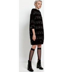 sukienka w kółeczka