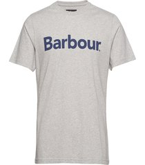 barbour ardfern tee t-shirts short-sleeved grå barbour