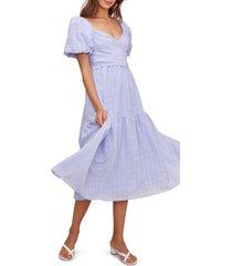women's astr the label sonnet tie back midi dress