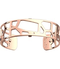 les georgettes by altesse exotic spots openwork thin adjustable cuff girafe bracelet, 14mm, 0.5in