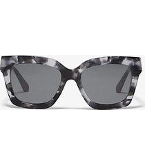 mk occhiali da sole berkshires - grigio/nero (grigio) - michael kors