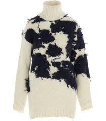 off-white moo turtleneck sweater
