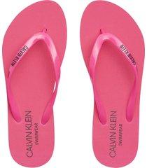 sandalia ff sandals rosa calvin klein