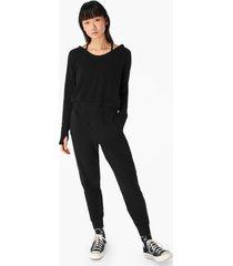 hibernate luxe fleece jumpsuit