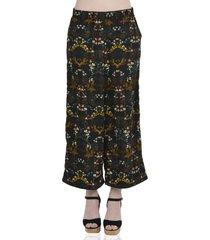 pantalón con elástico de mujer aishop af172-1110-506 negro