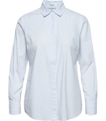 blouse long-sleeve långärmad skjorta blå gerry weber edition