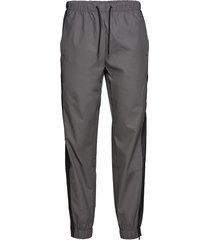 color block pants sweatpants mjukisbyxor grå rains