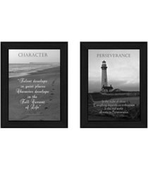 """trendy decor 4u character collection by trendy decor4u, printed wall art, ready to hang, black frame, 20"""" x 14"""""""