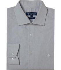 camisa dudalina manga longa fio tinto maquinetada listrado masculina (listrado 2, 48)