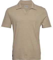 delon jersey shirt polos short-sleeved beige morris