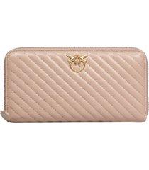 pinko ryder wallet zip-around