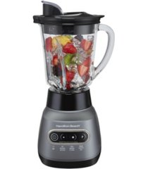 hamilton beach ice crusher blender with 40 oz. glass blender jar and 20 oz. travel jar