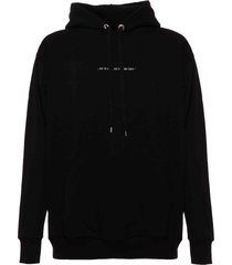 family first milano hoodie iconic black