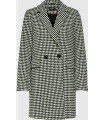 abrigo only negro - calce regular