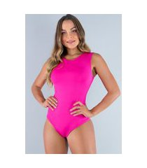 body mvb modas camiseta collant suplex rosa