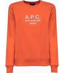 a.p.c. sweat tina sweatshirt coebh-f27561