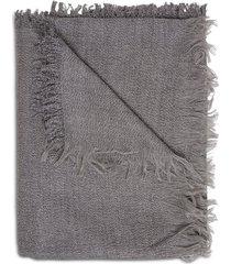 fabiana filippi gray glittered wool scarf
