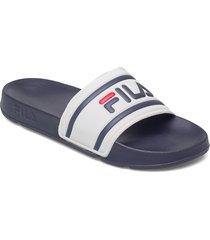 morro bay slipper 2.0 slippers tofflor vit fila