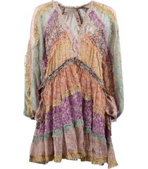 zimmermann carnaby frill billow dress