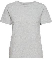 100% organic cotton vintage t-shirt t-shirts & tops short-sleeved grå gap