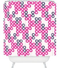 deny designs holli zollinger circle chain shower curtain bedding