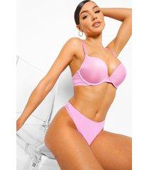 pastel microvezel string, pink