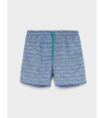 pantaloneta de baño estampada para hombre 08982