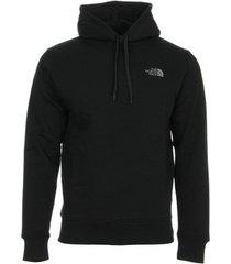 sweater the north face seasonal drew peak pullover hoodie