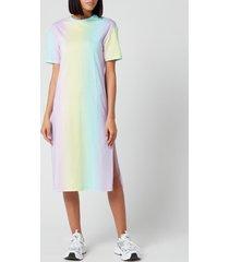 olivia rubin women's beanie dress - pastel tie dye - l