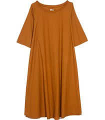 tauro dress in ocre