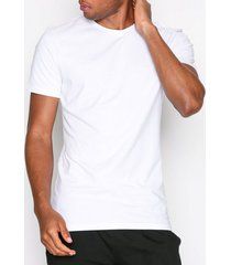 bread & boxers 2-pack crew-neck t-shirts & linnen vit