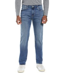 men's mavi jeans zach straight leg jeans, size 40 x 34 - blue