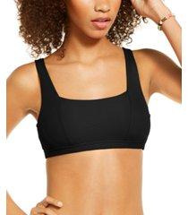 becca tie-back bralette bikini top women's swimsuit